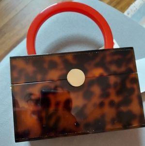 Zara tortoiseshell purse